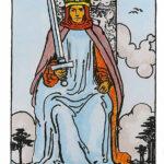 Rey de espadas Tarot