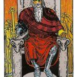 El emperador. Carta IV del tarot, Arcano Mayor.