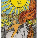 El Sol en el tarot. Interpretación.